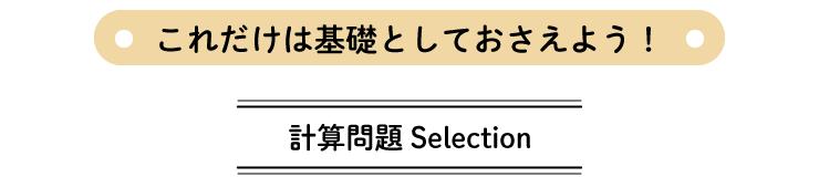 計算問題Selection